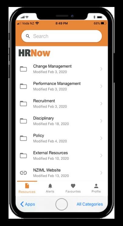 HRNow on mobile